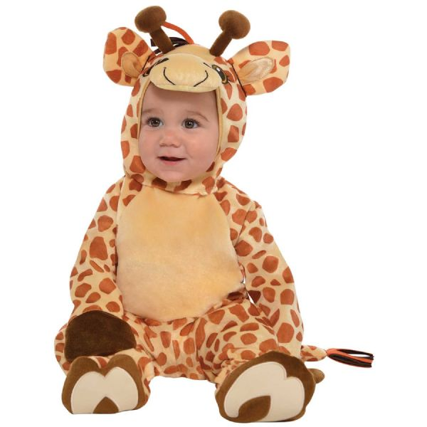 Cstm Junior Giraffe Costume Toddlers Fancy Dress Outfit